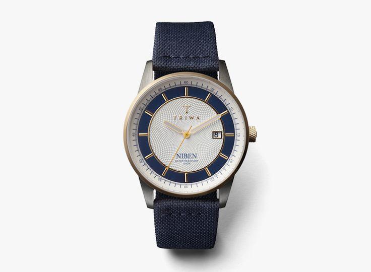 Náramkové modré dámské hodinky Duke Niben / Blue women's watches Triwa Duke Niben  #triwa #watches #women #analogue #hodinky #damske  http://www.urbag.cz/hodinky-triwa-panske-damske-kolekce-podzim-zima-2014/