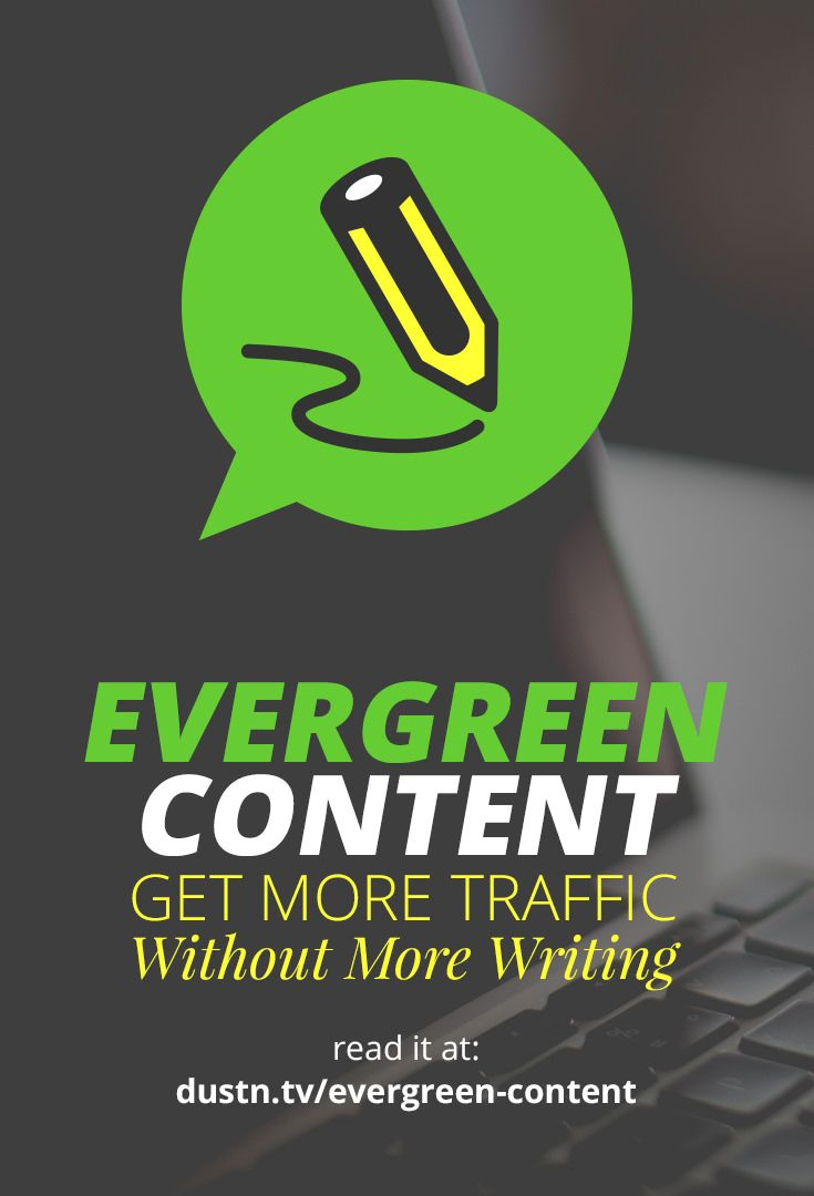 If you've been blogging for six months or six years, you should have an Evergreen Content Strategy. This type of blog content can drive traffic and conversions for years to come, allowing you to write less but continue to grow.