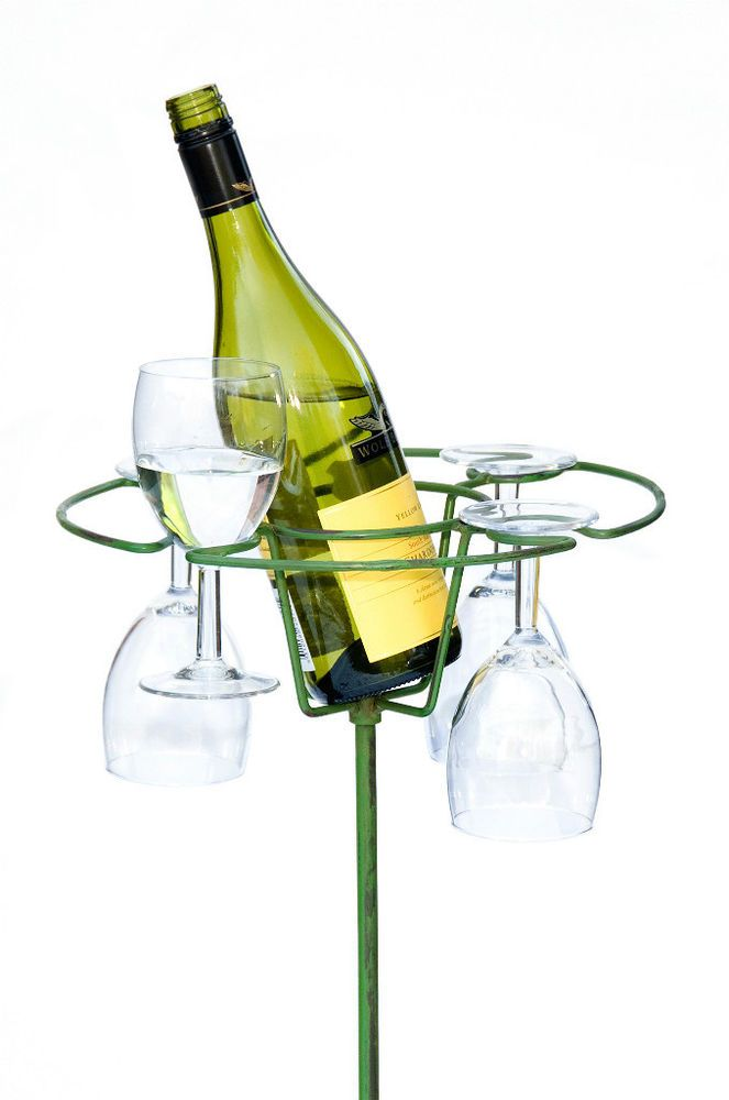 Wine Bottle and Glasses Storage Spike 186