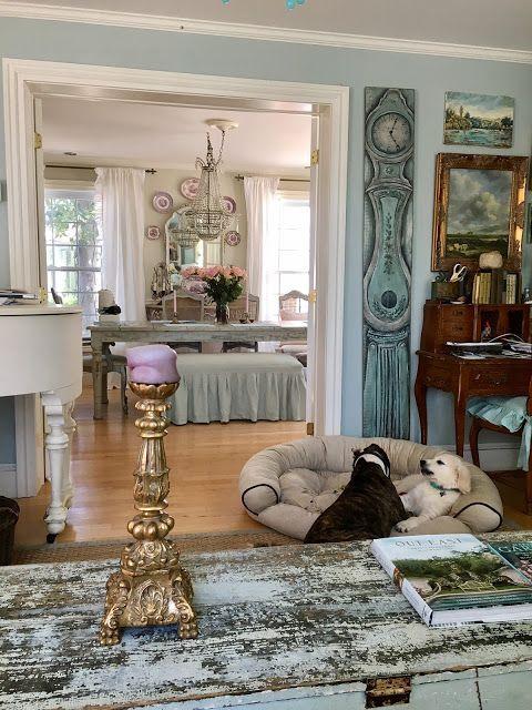 Maison Decor: New: Cupola installation, Bohemian rug runner, and Cabana curtains