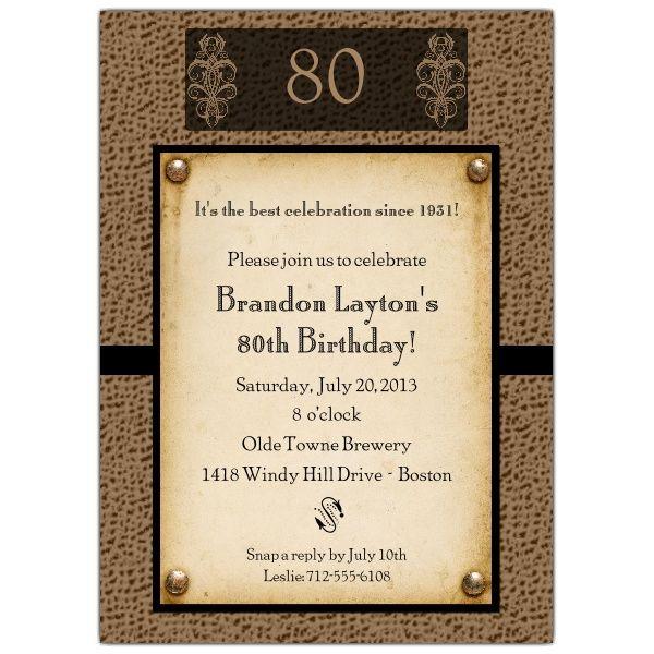 formal birthday invitation text