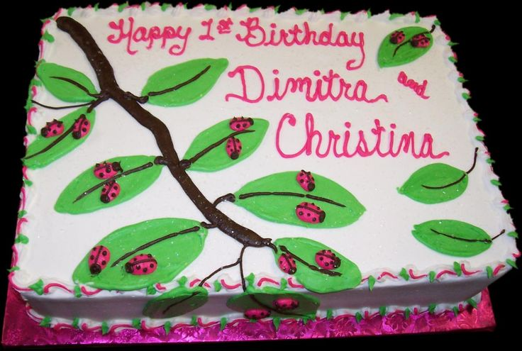 Birthday Cake Slices Ark