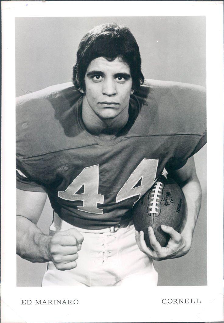 "Ed Marinaro Vikings | 1971-81 Ed Marinaro Cornell Vikings ""TSN Collection Archives"" Original ..."