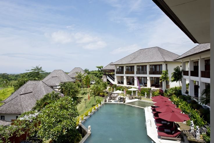 Bali poolside resort