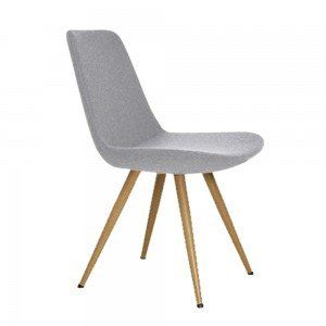 Light Grey U0026 Oak Parker Dining Chair