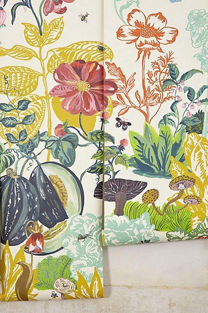 Great Meadow Mural // anthro // I'm thinkin' kids room - so fairy tale :) ich liebe es