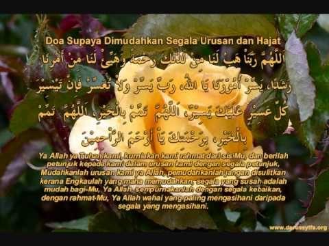 Doa Permudah Segala Urusan & Hajat