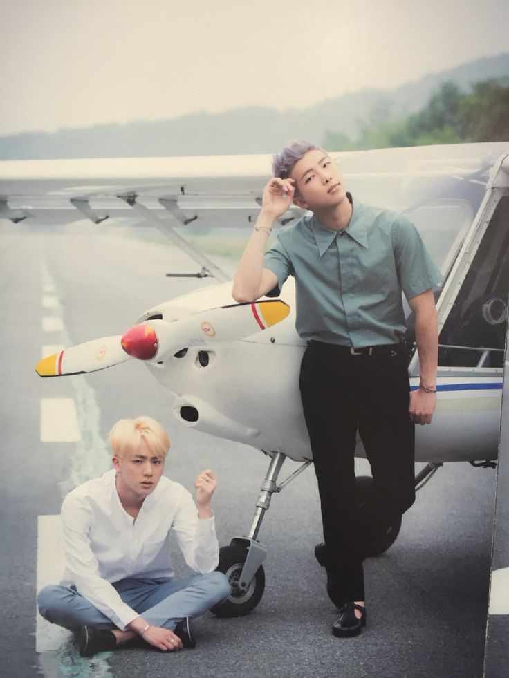 Jin and Rap Monster ❤ Japanese 2nd album 'YOUTH' #BTS #방탄소년단