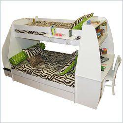 Bunk Beds, Cheap Bunk Bed, Loft Bunk Beds, Twin over Full, Futon Bunk Beds