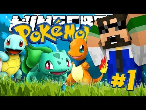 cool Minecraft: POKEMON!! - THE FIRST TRAINER!!!