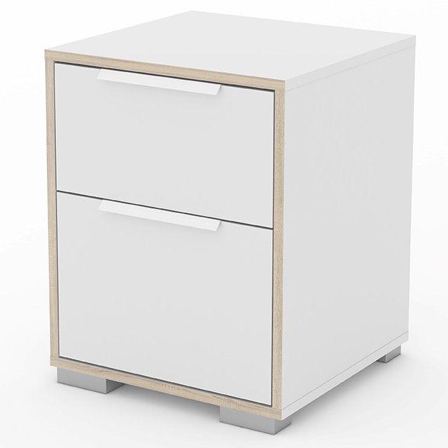 Luxus Hausrenovierung Nachttische Die Beste Sammlung Fur Ihre Schlafzimmermobel Ideen #19: Nachttisch Line Mit 2 Schubladen