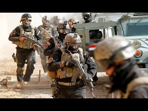 Iraq War 2016: Kurdish & Iraqi Special Forces In Heavy Clashes With ISIS During The Battle For Mosul