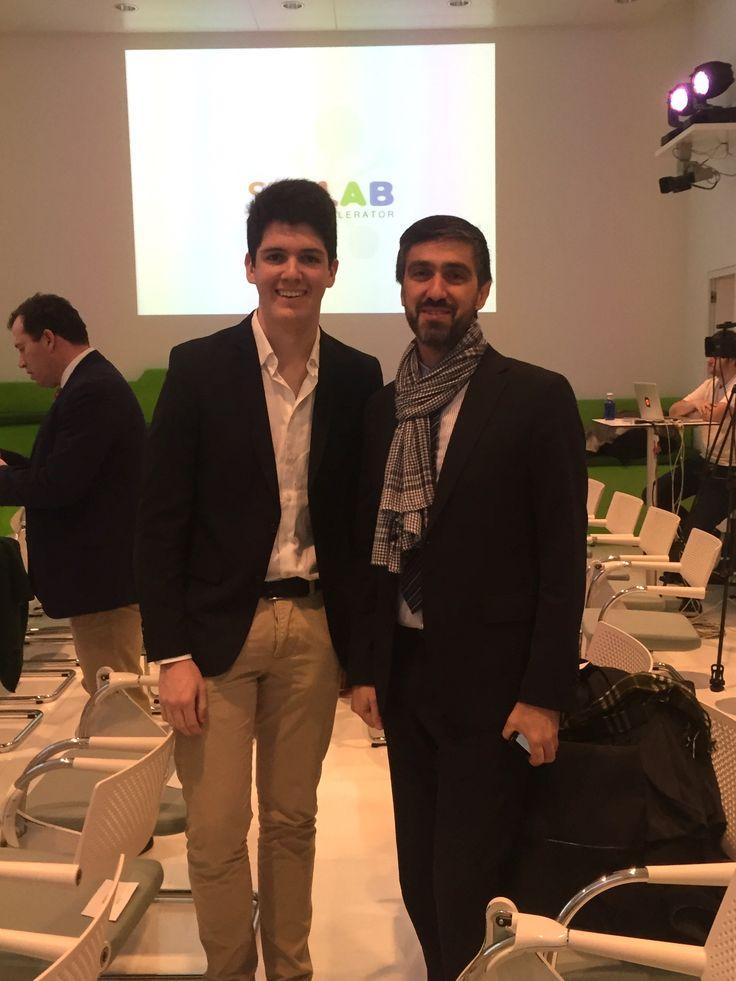 Pepe L. y Jorge Moreno en los #seklabawards @sek_lab @xalocgregal