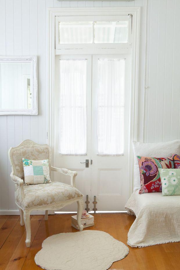 queenslander white interior...beautiful !