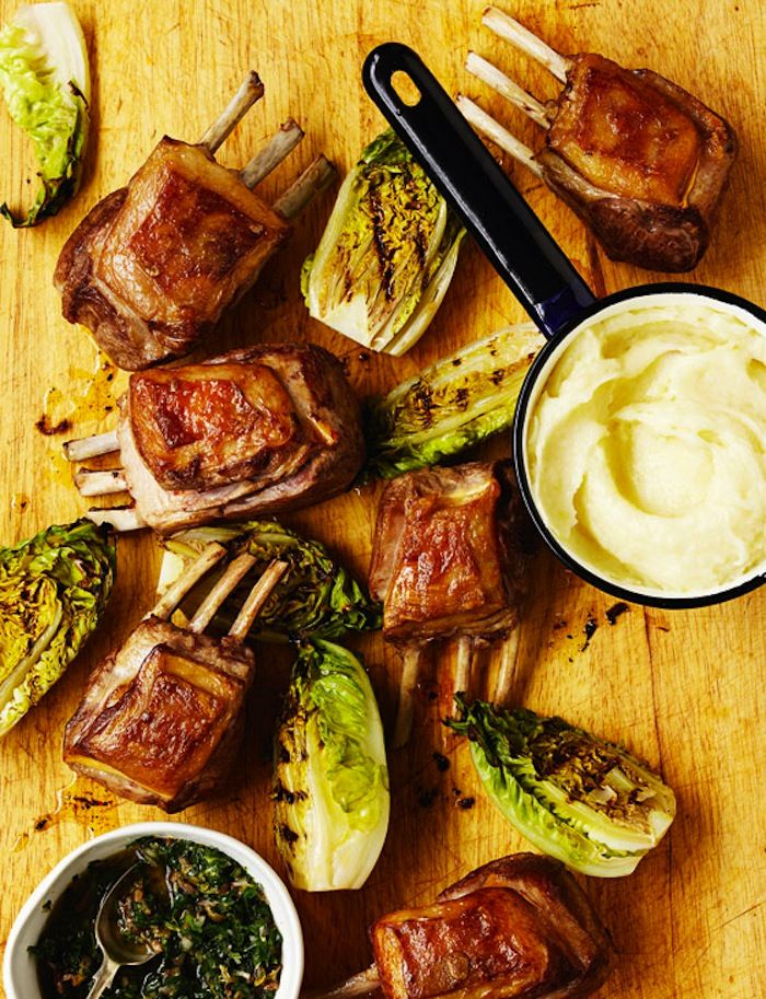 97 best tom kerridge images on pinterest tom kerridge dish and rack of lamb with salsa verde tom kerridgerack forumfinder Images