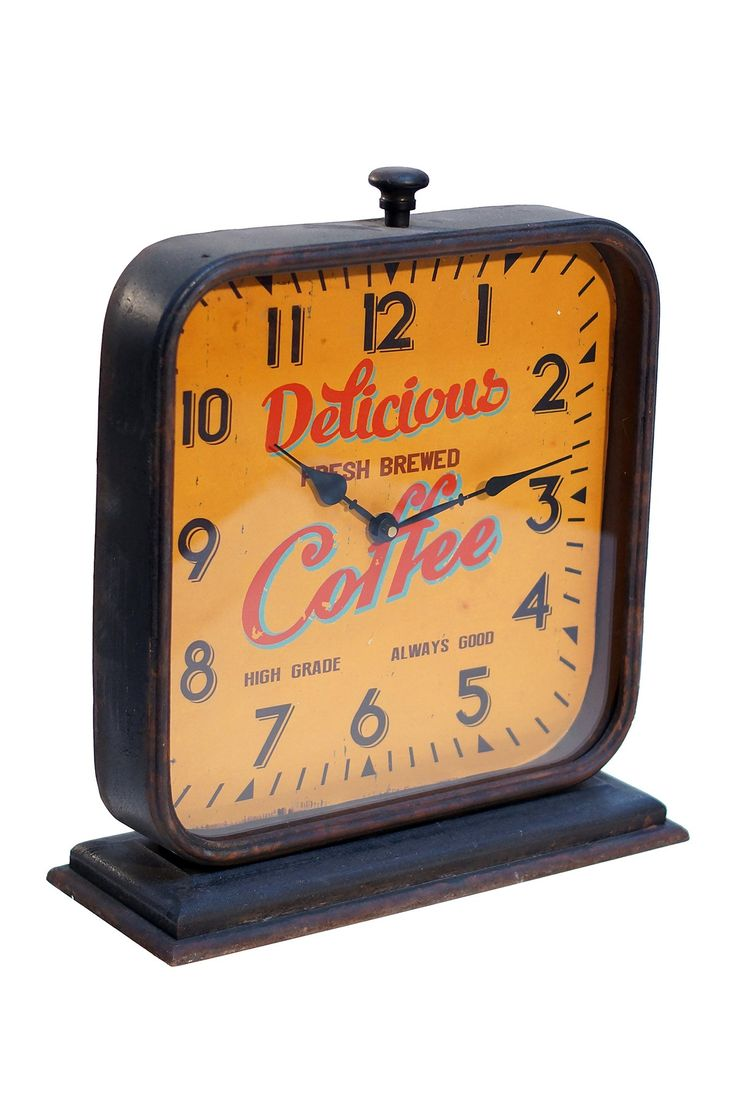 Metal Table Clock On @HauteLook