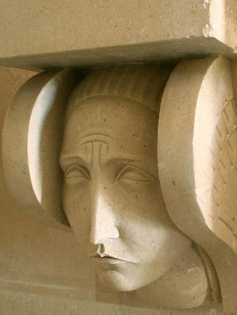Račić family mausoleum realized by Ivan Meštrović (detail) - Cavtat - croatia