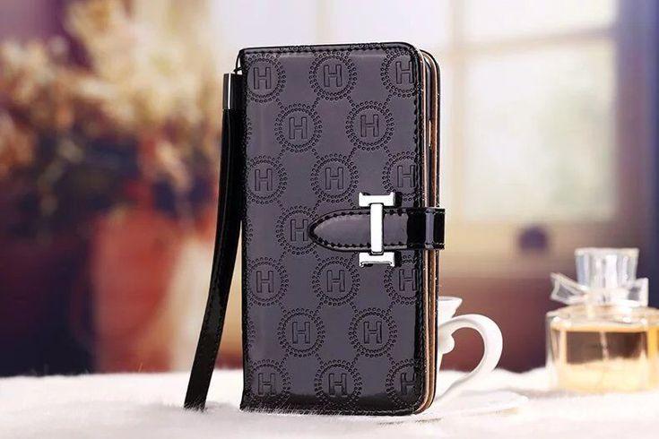 エルメスiphone7/7plus カバーiphone6s/6splusケース 手帳型ケース ストアップ付きカード入れ