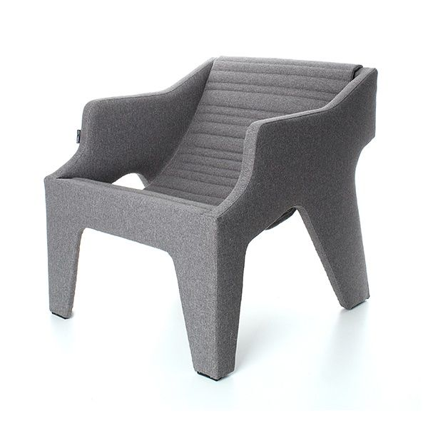 FLOW Armchair - Melounge  This piece of furniture is an effect of contemporary taste. Beautiful, lightweight form of FLOW includes suspended seat.