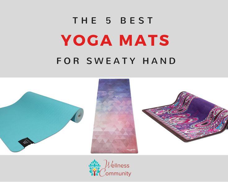best yoga mat for sweaty hands