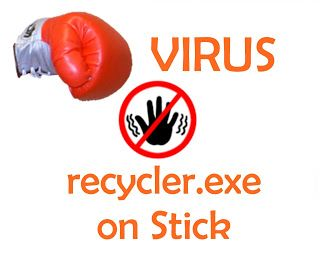 Scapa de virusul recycler.exe de pe stick