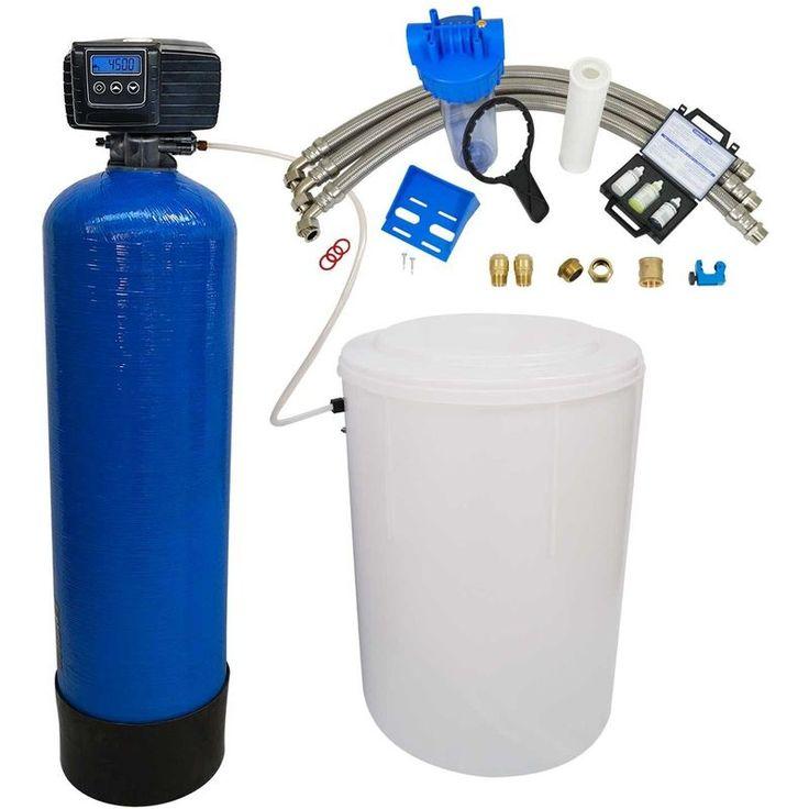Adoucisseur D Eau Bi Bloc 50l Fleck 5600 Sxt Complet Pentair Water Bottle Bottle