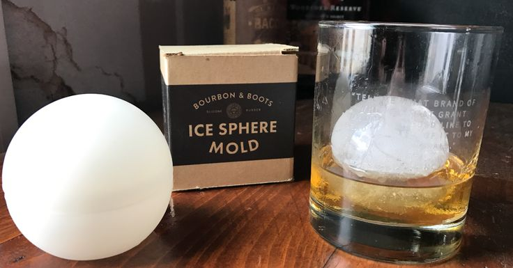 FREE exclusive Whiskey Ice Mold ($18 value) for orders over $60. Use Promo-Code FREEICEBALL at checkout Whiskey Ball by Bourbon  Boots