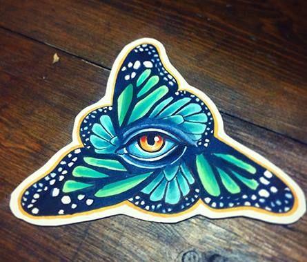 Redberry Tattoo Studio #tattoo #inked #ink #studio #wroclaw #warszawa #tatuaz #dresden #redberry #katowice #redberrytattoostudio #amaizingtattoo #poland #berlin #eztattoo #nastiazlotin #zlotin #sketch #buttereye #butterfly #eye #oko #nature #frame #project #design