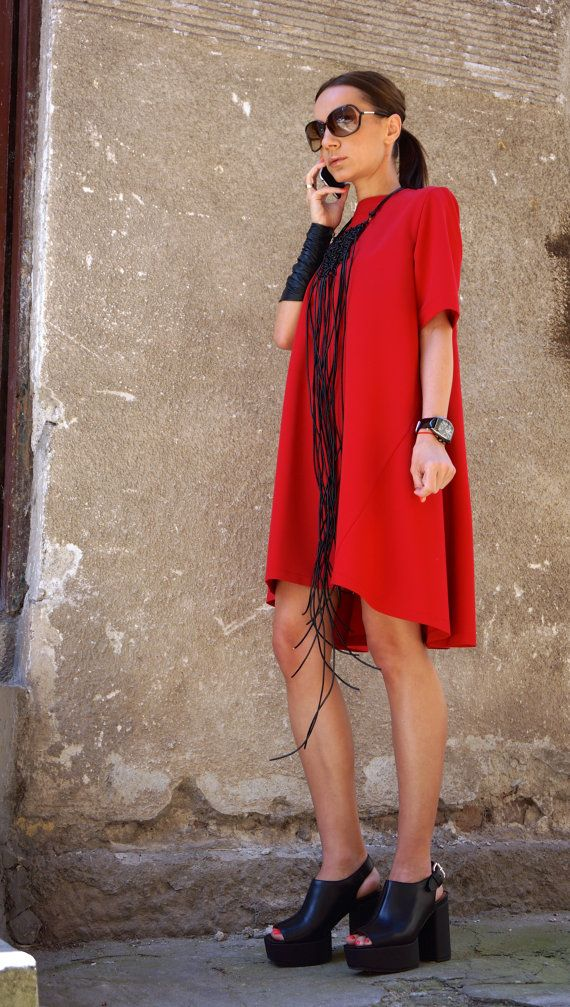 New Collection Sexy Little Red Dress / Red Dress / Extravagant