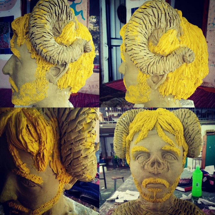 Sculpting of my bust!