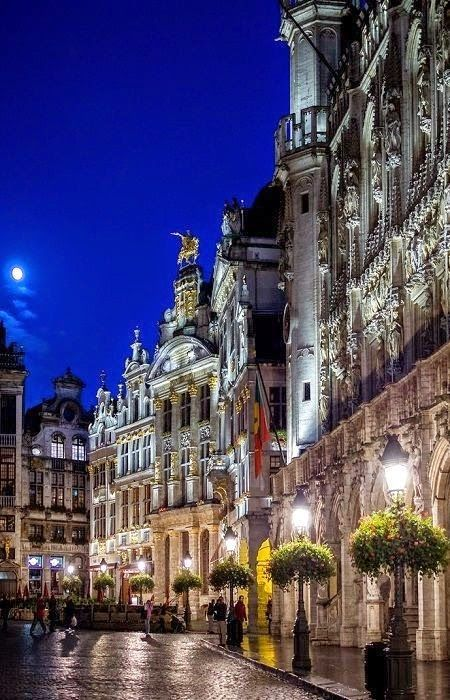 The Grand Palace in Brussels, Belgium.