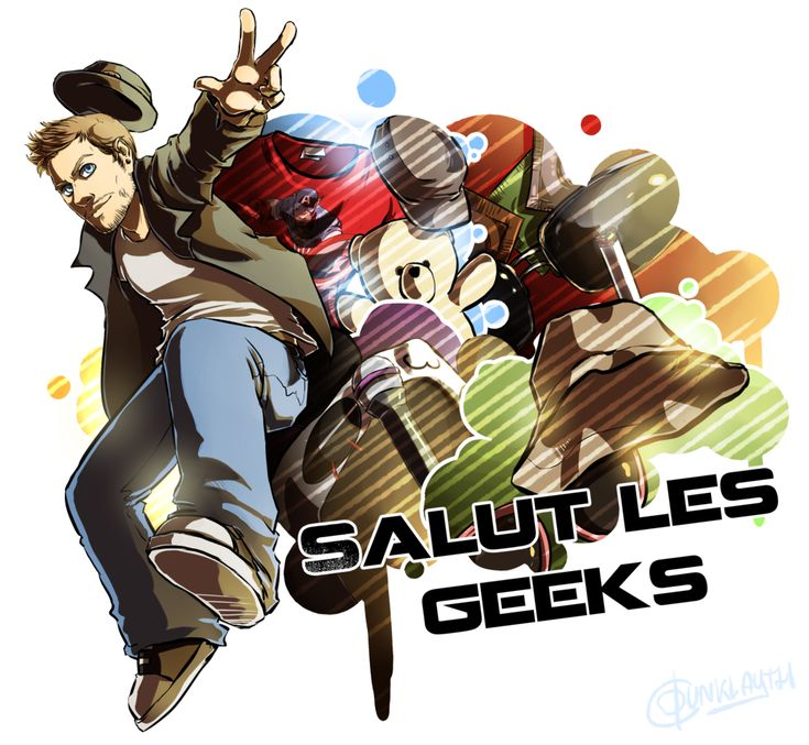 Salut les Geeks by Dunklayth.deviantart.com on @DeviantArt