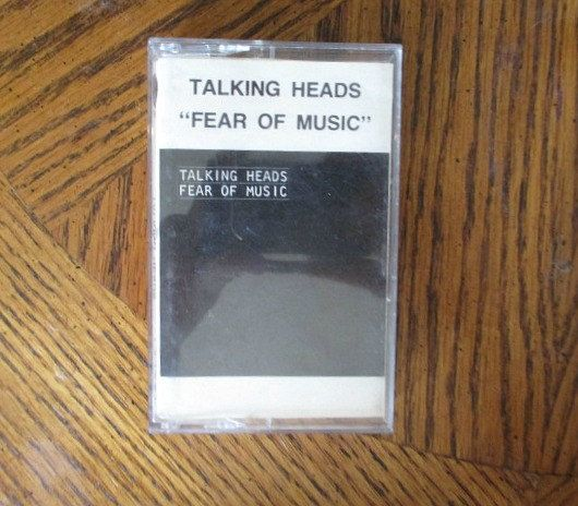 Talking Heads Cassette Tape Fear of Music New Wave 80's Punk Cassette Music Sire Records