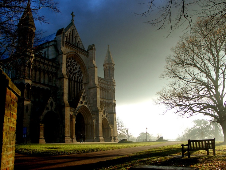 St. Albans, England One of my favourite places to visit.