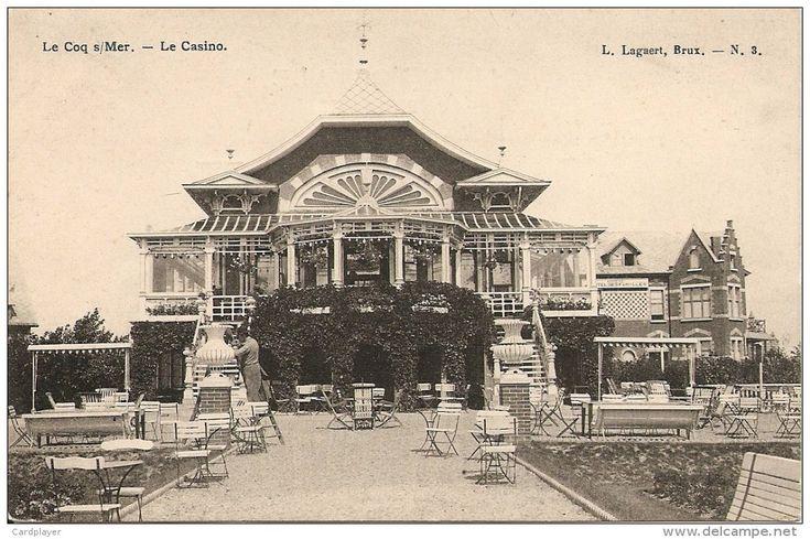 DE HAAN - Le Coq-sur-Mer - Le Casino - Met Terrasstoelen / Avec Sièges De Terrasse - Edit. L. Lagaert  - De Haan