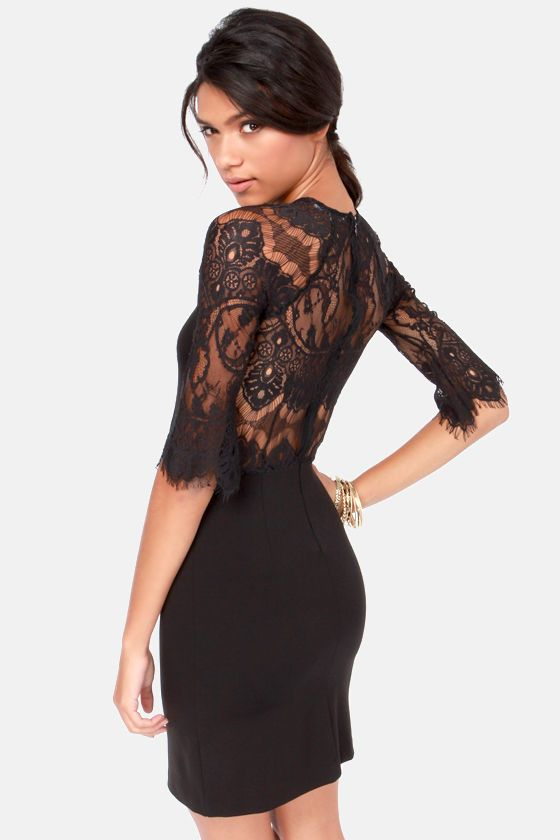 Lusting after the back of this BB Dakota Princeton Lace Dress