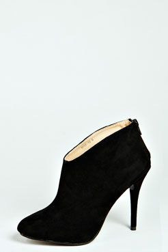 Polly Suedette Ankle Boot at boohoo.com