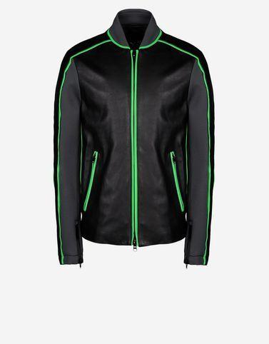 Y-3 Surfer Leather Jacket