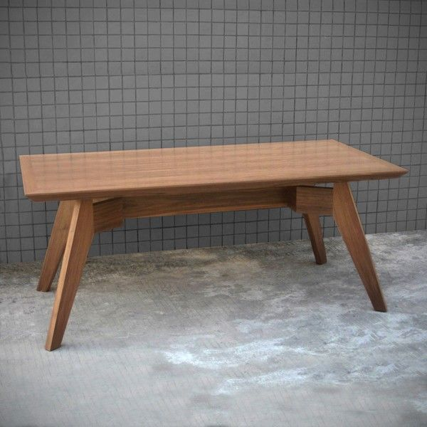 Gus Span Dining Table-available in Walnut or Natural Oak finish