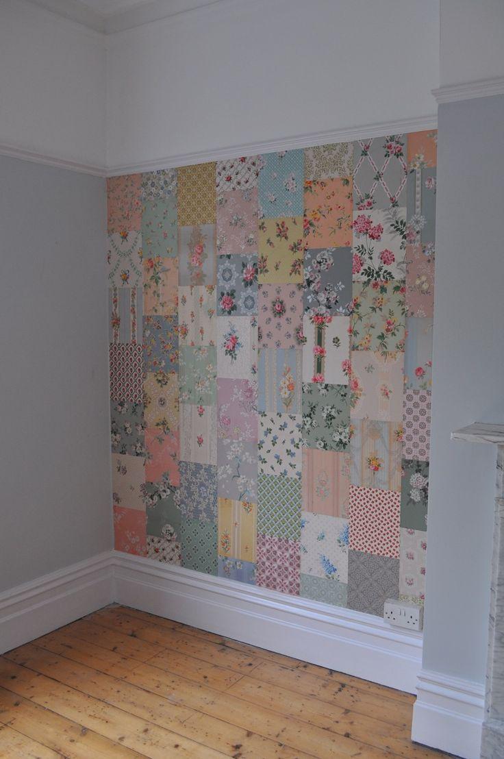 HenHouse    vtg wallpaper patchwork
