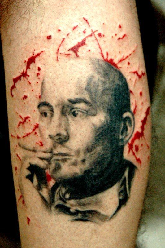 Oltre 1000 idee su tatuaggio con cacciatore su pinterest for Hunter s thompson tattoos