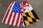buy Maryland USA Flag Shorts - Lacrosse