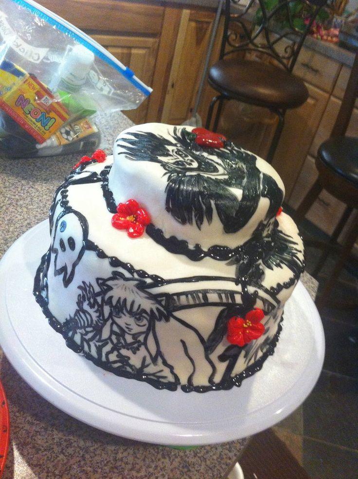 Anime Birthday Cake Pic