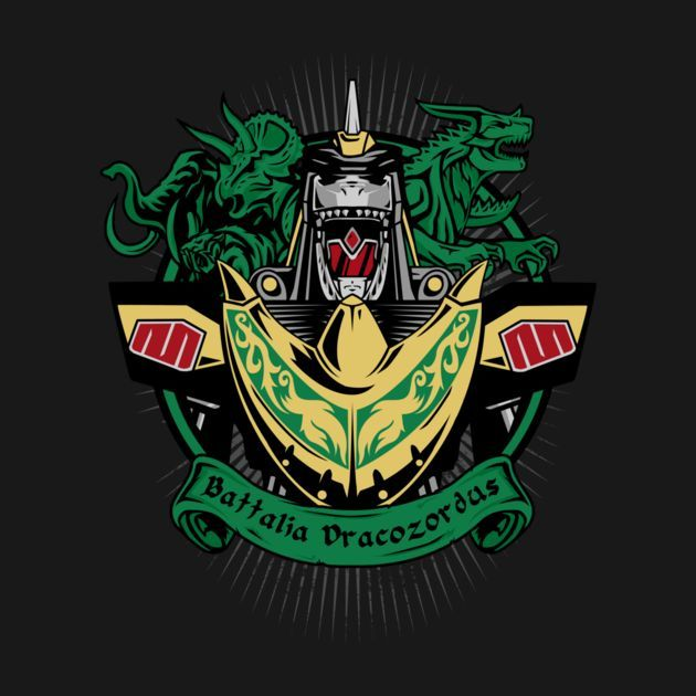 BATTALIA DRACOZORDUS T-Shirt $12 Power Rangers tee at Once Upon a Tee!