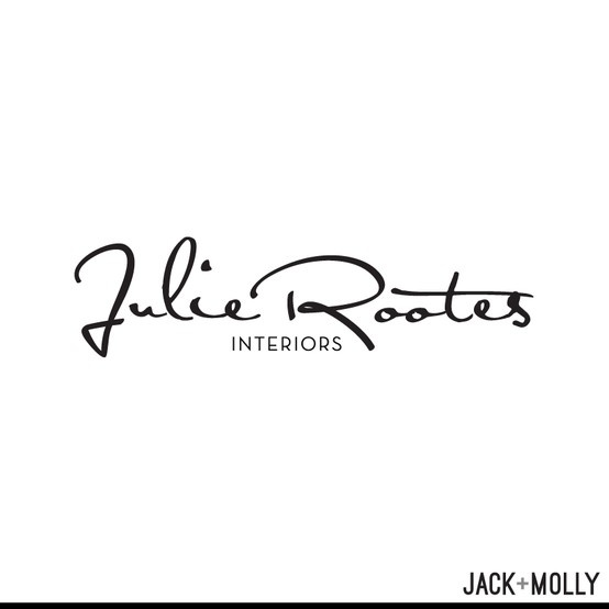 Logo Design/ Branding for Julie Rootes Interiors by Jack and Molly Creative