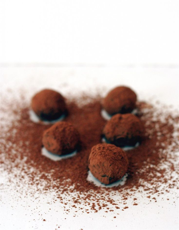Balsamic Chocolate Truffles | Chocolate Dessert | Pinterest