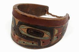 Tlingit war collar - Alaskan Native American armour