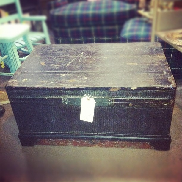 antique asian trunk $125...Magnolia and Willow ; antique and vintage Located in Long Beach, Ca. Facebook.com/magnoliaandwillow