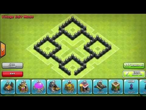 awesome Clash of Clans - TH4 Farming Base - Centralized Mortar - Symmetrical - 2014 - [Speedbuild]Read the describtion! »☟ !Feature Points! â-» Gratis GEMS Support me by entering this code: HE6PQN After entering......http://clashofclankings.com/clash-of-clans-th4-farming-base-centralized-mortar-symmetrical-2014-speedbuild/