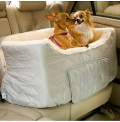 Large Lookout Pet Car Seat - Horse.com